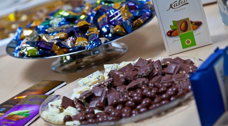 Шоколад фирмы Kalev