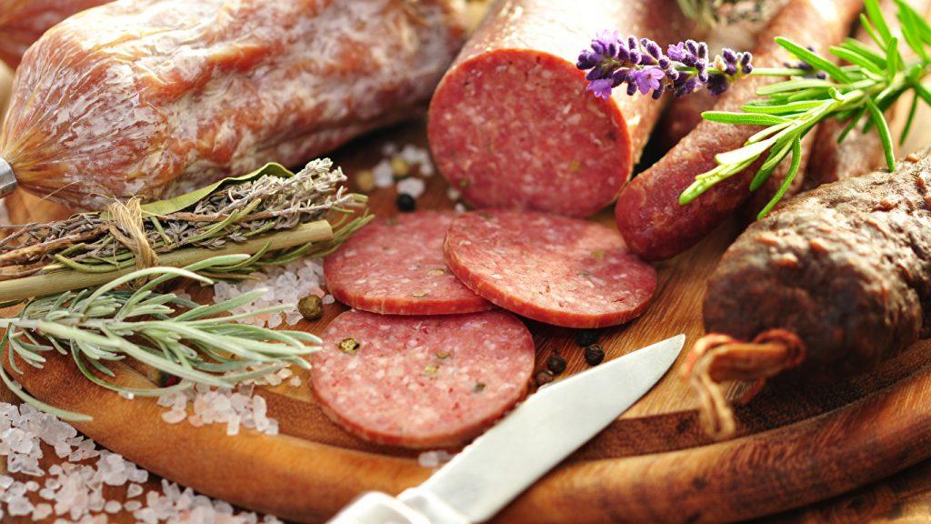 Эстонские колбасы