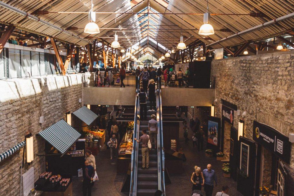 Рынок у Балтийского вокзала в Таллине