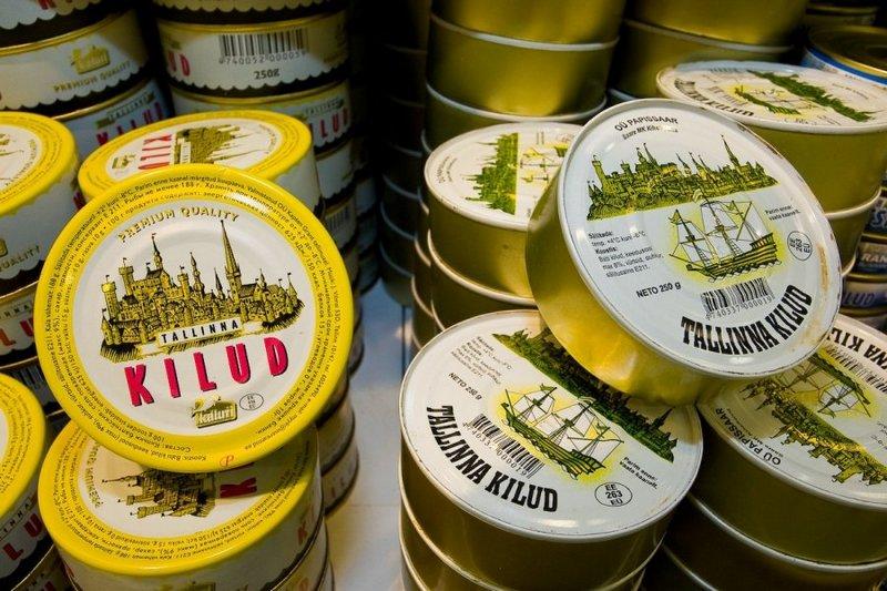 Рыбные консервы в Таллине