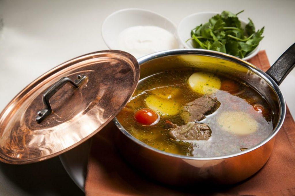 Суп из дичи