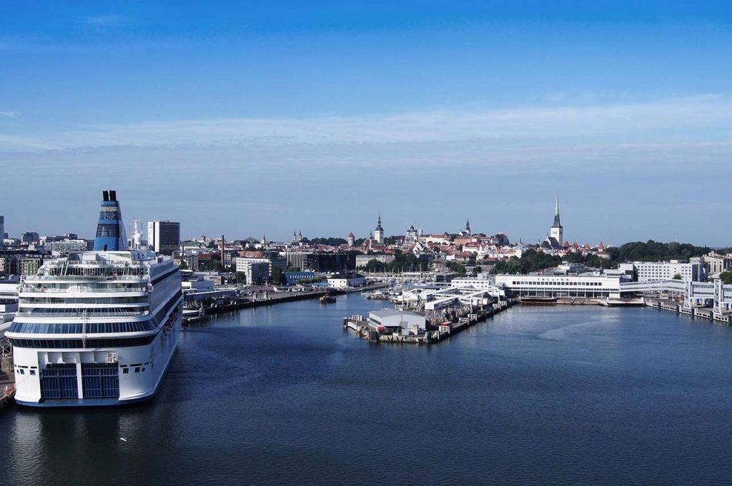 Порт в Таллине