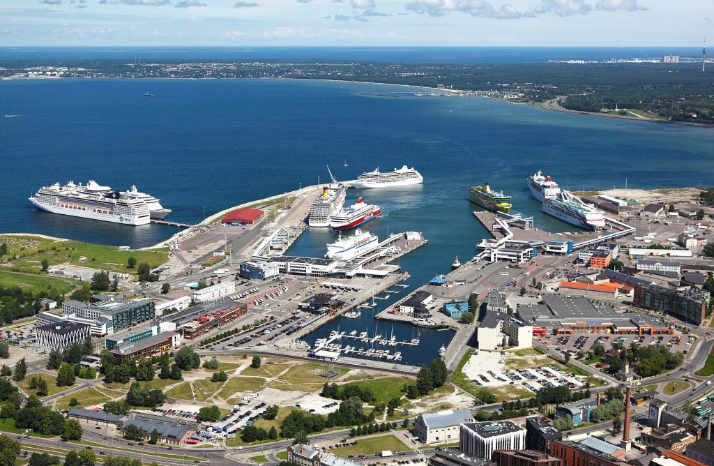Морской порт в Таллине