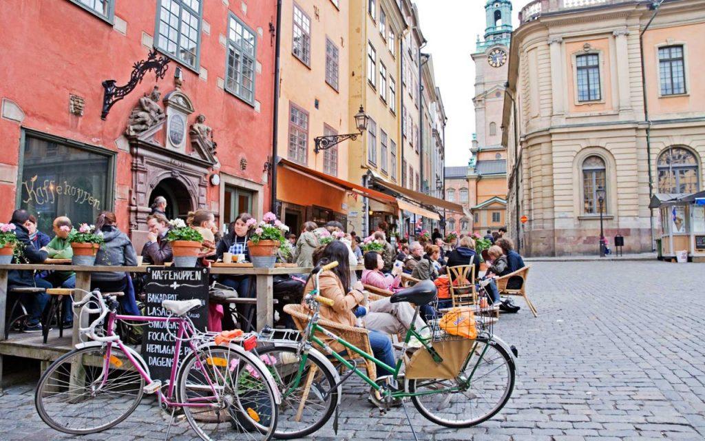 Велопрогулка по островам Стокгольма