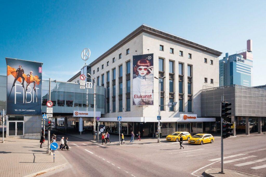 Торговый центр Tallinna Kaubamaia