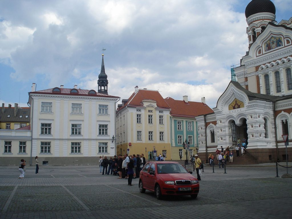 Дворцовая площадь в Таллине