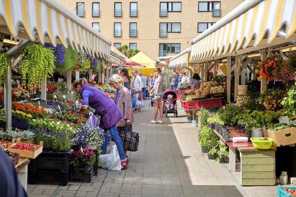 Ныммеский рынок в Таллине