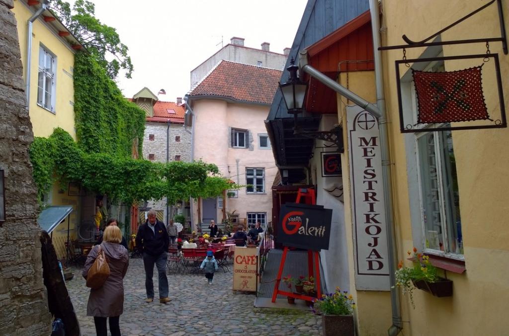Город мастеров в Таллине