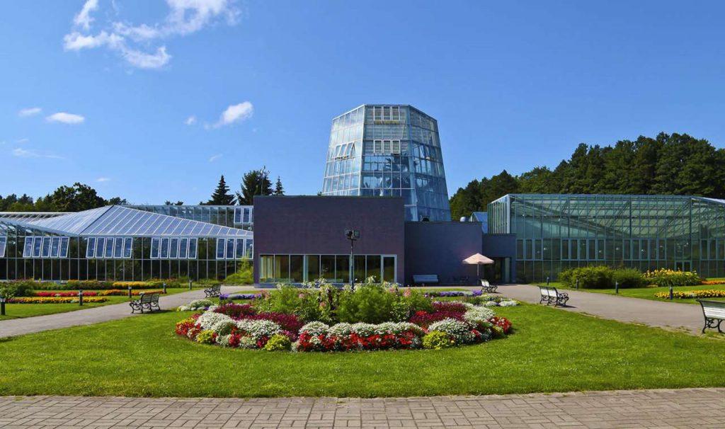 Ботанический сад в Таллине