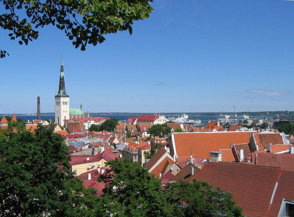 Смотровая площадка Кохтуотса в Таллине