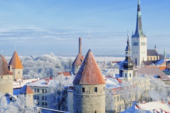 Зимний Таллин, 3 дня