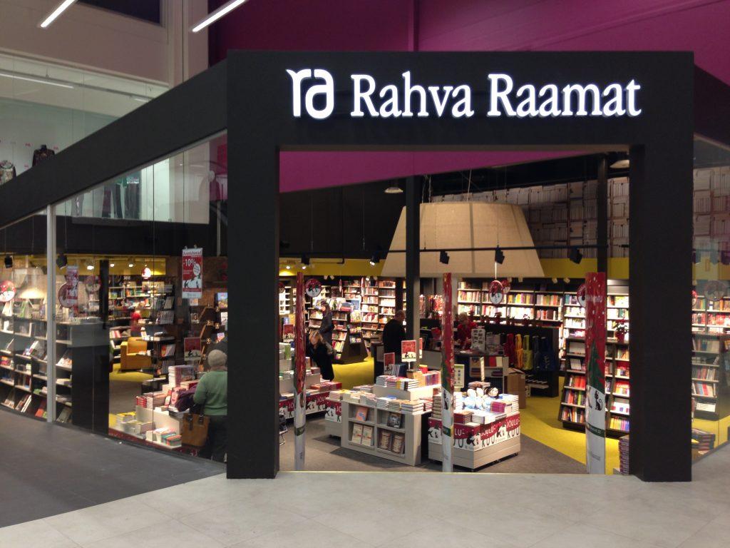 Книжный магазин Rahva Raamat