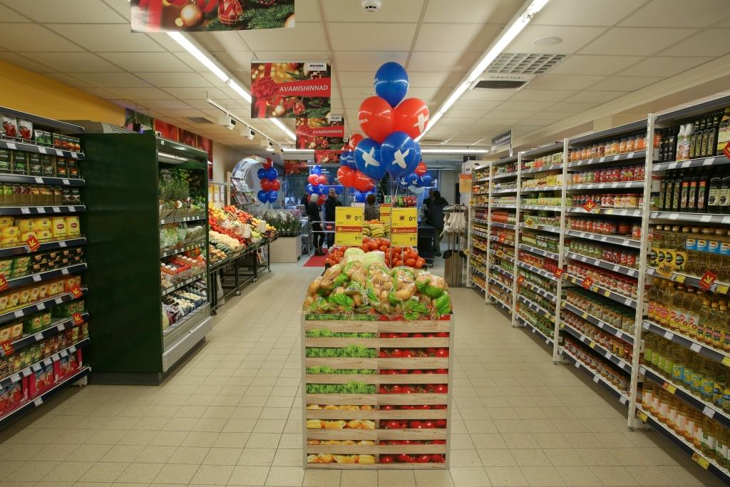 Гипермаркеты в Нарве