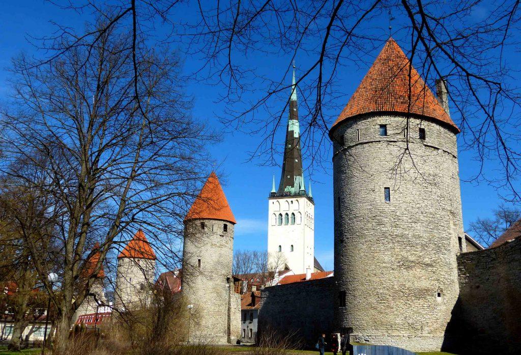 Церковь и башня святого Олафа