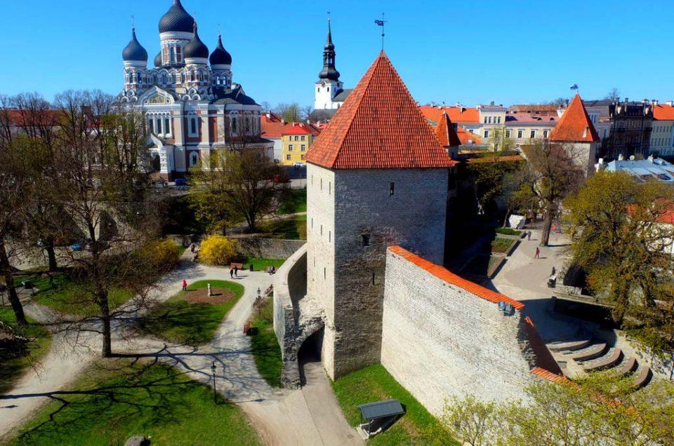 Девичья башня в Таллине
