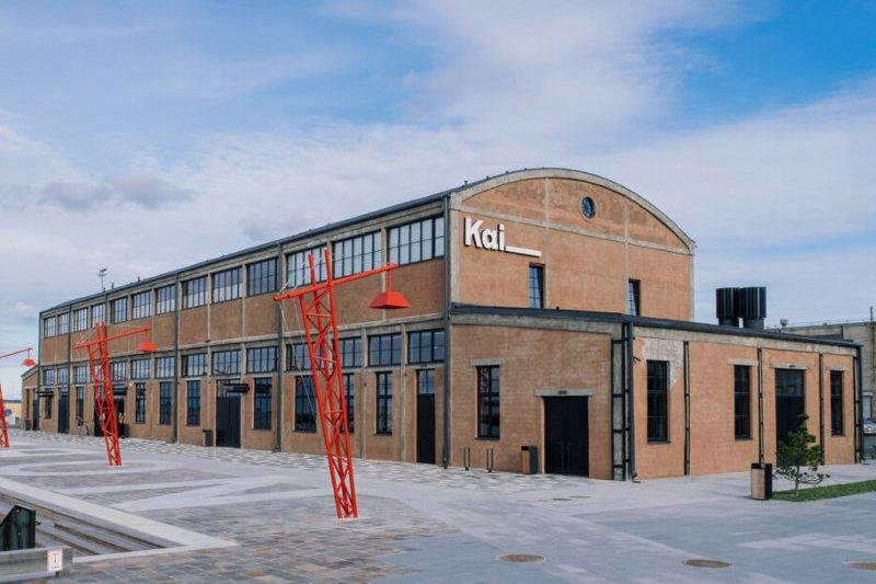 Центр современного искусства Kai Art Center в Таллине