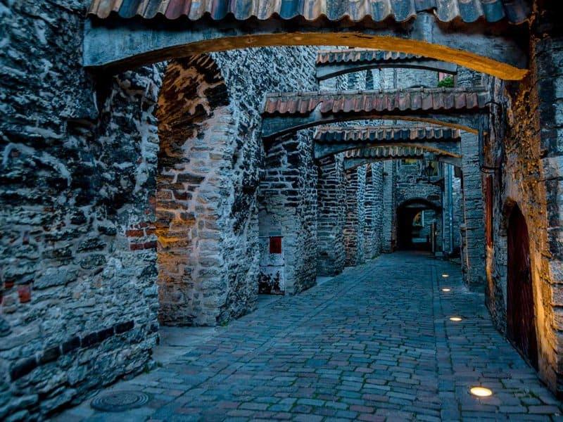 Переулок Святой Катарины в Таллине