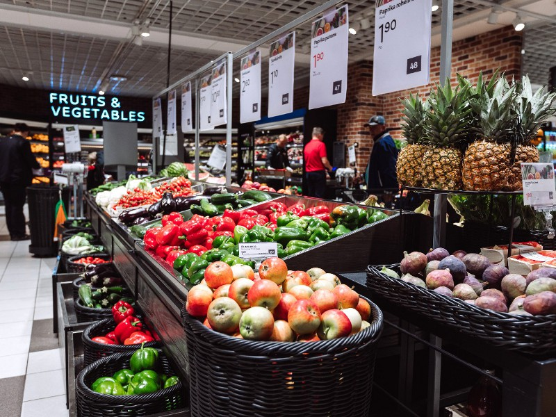 Продуктовый магазин в ТЦ Stockmann в Таллине
